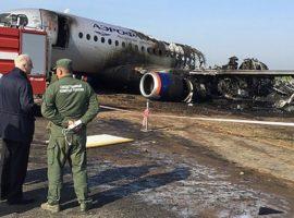 «Аэрофлот» ответил на сообщения о нарушении инструкций экипажем SSJ100