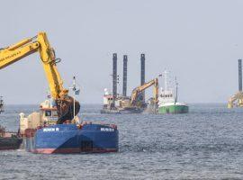 К постройке «Северного потока-2» привлекут землесосы из Испании и с Кипра
