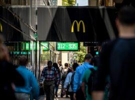 «Макдоналдс» отчитался о рекордном росте продаж за семь лет