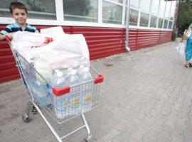 В магазинах Сибири вырос спрос на воду