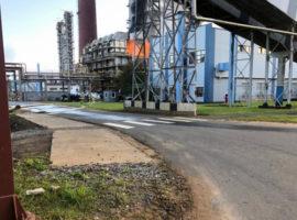 На НПЗ «Сургутнефтегаза» в Ленинградской области произошел пожар
